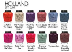 OPI The Holland Collection