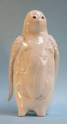 The Bird  Sophie Woodrow. Ceramic.  Love it--ARTIST-designed ceramic, marvelous.