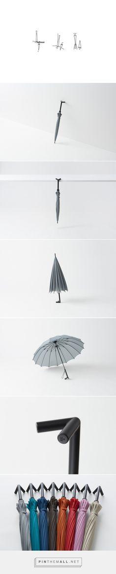 stay-brella | nendo 여러모로 쓰는 사람이 편하고 행복해지는 우산