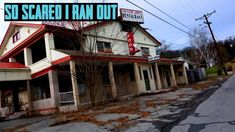 Abandoned Restaurant - SO SCARED I RAN OUT!