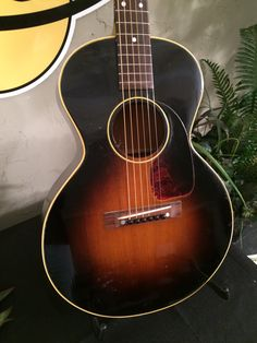 Here is a 1953 Gibson LG-2 3/4 Acoustic, a smaller bodied guitar with the vintage Gibson sound
