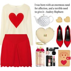The Valentine Effect, created by prettyorchid22 on polyvore...cute v-day date outfit!