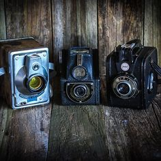 Early Cameras - available in a variety of formats...