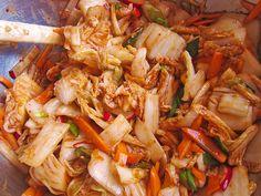 Baechu Kimchi - Chinakohl pikant nach koreanischer Art, ein leckeres Rezept aus der Kategorie Haltbarmachen. Bewertungen: 48. Durchschnitt: Ø 4,5.