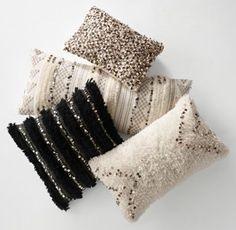 Moroccan Wedding Blanket Pillow Cover & Insert