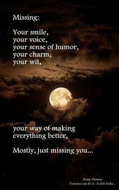 Mostly just missing you ~ Grief ~ Heartbroken ~ Heartbreak ~ Loss ~ Breakup Just Missing You, Missing My Husband, I Just Miss You, Rip Daddy, Miss Mom, I Miss Him, Miss You Daddy, Best Friend Poems, Bereavement