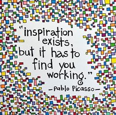 Yes! INSPIRATION Picasso