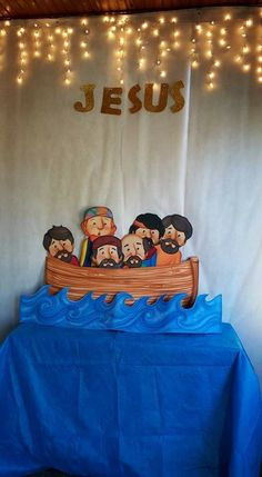 Bible Quiet Book, Bible Crafts, New Testament, Birthday Cake, Jesus Calms The Storm, Teen Decor, Puppets, Kids Ministry, Christ