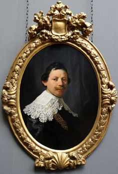 https://flic.kr/p/tMvEY8 | National Gallery, London | Rembrandt (1606-69) - Portrait of Philips Lucasz., 1635 (frame dates from 1690-1700)