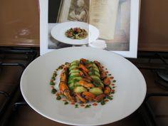 Mucles   courgettes    carottes   pommes  de  terre  tomato  et   pesto  de  basilique   Gino D'Aquino .