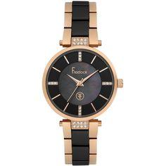 Ceasuri Dama :: CEAS FREELOOK F.1.1015.03 - Freelook Watches Gold Watch, Swarovski, Watches, Rose, Accessories, Crystal, Wristwatches, Clocks, Roses