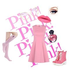 """""""Pink Pink Pink Pink!"""" by h3llo6 on Polyvore featuring RED Valentino, Pastel Pairs and Christian Dior"""