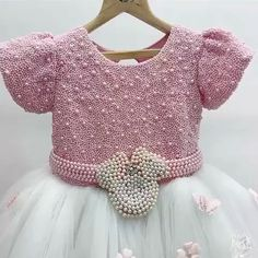 Baby Girl Dress Patterns, Little Girl Dresses, Girls Dresses, Flower Girl Tutu, Flower Girl Dresses, 6 Month Baby Picture Ideas, Baby Girl Birthday Dress, Frocks For Girls, Cute Kids Fashion