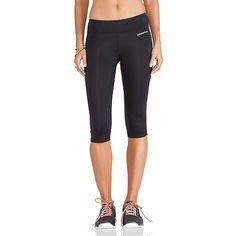 Patagonia Velocity Running Capris Activewear ($65) ❤ liked on Polyvore featuring activewear, activewear pants, pants, patagonia sportswear und patagonia