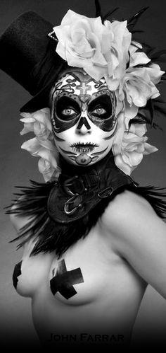 sugar skull beauty