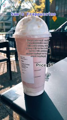 Non Coffee Starbucks Drinks, Bebidas Do Starbucks, Coffee Drink Recipes, Starbucks Frappuccino, Coffee Drinks, Barista Starbucks, Frappuccino Recipe, Starbucks Secret Menu Drinks, How To Order Starbucks