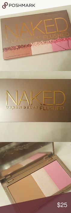 Urban Decay Flushed (new) UD Naked Flushed; blush, bronzer, highlighter in Native Urban Decay Makeup