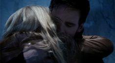 Colin O'Donoghue -Killian Jones - Captain Hook Jennifer Morrison - Emma Swan on Once Upon A Time 4x2