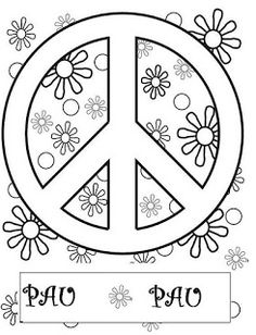 Love Coloring Pages, Free Adult Coloring Pages, Coloring Sheets, Coloring Books, Peace Crafts, Woodstock, Remembrance Day Activities, Silkscreen, Bead Art