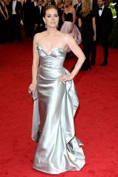 Red carpet del Costume Institute Gala 2014: Amy Adams en Oscar de la Renta