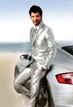 Résultats de recherche d'images pour « men in shiny clothes Suit Fashion, Leather Fashion, Mens Fashion, Leather Blazer, Leather Men, Men Blazer, Men Formal, Formal Wear, Tight Suit
