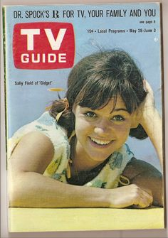Sally Fields as Gidget TV Guide, May 28 - June 3, 1966