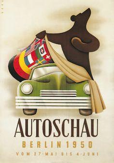 IAA Plakat 1950