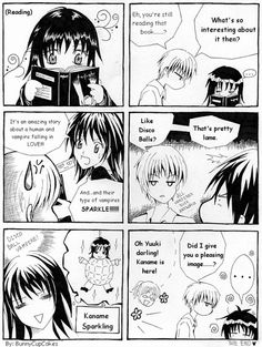 vampire knight funny | view original image )