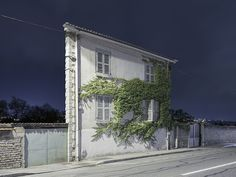 Isolated Facades Stand Precariously in the Twilight by Zacharie Gaudrillot-Roy | Colossal
