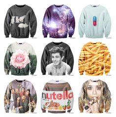 Cool pop sweatshirts. #sweatshirts