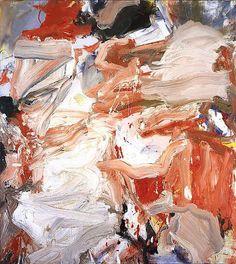 Willem de Kooning, Untitled Vll on ArtStack # willem-de-kooning - - Willem De Kooning, Kandinsky, Jackson Pollock, De Kooning Paintings, Expressionist Artists, Action Painting, Guache, Pop Art, Rotterdam