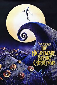 Watch The Nightmare Before Christmas Free Online - Jack Skellington, king of Halloween Town, discovers Christmas Town, but his attempts to bring Christmas to his home cause confusion. Christmas Fonts, Christmas Poster, Christmas Movies, Christmas Morning, Christmas Classics, Christmas Jars, Black Christmas, Disney Christmas, Christmas Christmas