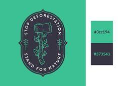 Dark blue and green logo - 22 best logo color combinations for inspiration Logo Color Combinations, Office Color Schemes, Color Schemes Design, Brown Color Schemes, Living Room Color Schemes, Design Room, Design Studio, Website Layout, Design Websites