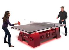 The World's Loudest Tennis Table, $15,000.