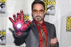 <b>RDJ = Tony Stark - Iron Man + Loud(er) suits.</b>