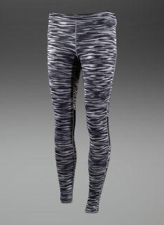 Nike Womens Scratch Print Leggings - Womens Running Clothing - Mine Grey-Black