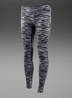 Nike Womens Scratch Print Leggings - Womens Running Clothing - Mine Grey-Black