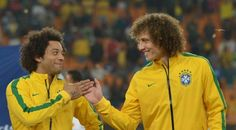 Marcelo e David Luiz