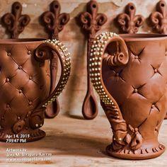 More mudbug mugs underway. :) #instaart #teacups #instalike #instadaily #inspiration #clay #cups #ceramic #lamaisoncréole #ceramicart #onlylouisiana #tea #pottery #coffee #photooftheday #art #thecreolehouse #artist #artoftheday #330daysofmud #330dayproject #330daychallenge #louisiana #nola #batonrouge  #livingstonparish #louisianalovemugs #creolepottery #creoleart #gifts