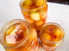 Κρεμμύδια τουρσί - Φτιάχνω κρεμμυδάκια τουρσί Fermented Foods, Preserving Food, Greek Recipes, Preserves, Pickles, Basil, Jelly, Cooking Recipes, Chutneys