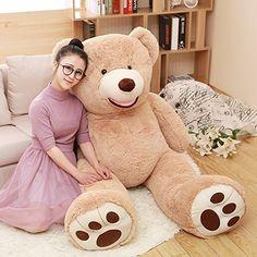 MorisMos Giant Teddy Bear with Big Footprints Plush Stuff... https://www.amazon.com/dp/B01LWNO7J8/ref=cm_sw_r_pi_dp_x_ktSNybV8WKX6Q