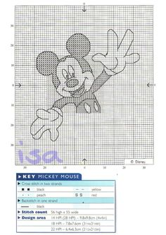 Gallery.ru / Фото #5 - The world of cross stitching 025 Mickey Mouse 2