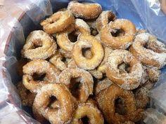 Roscos fritos de Semana Santa (receta secreta de mi comadre Pilar) sin lactosa / Holy Week Doughnuts