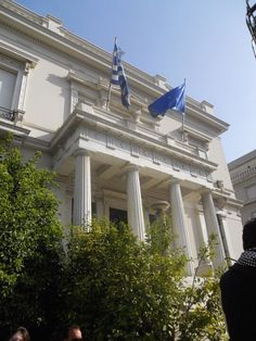 The Benaki Museum in Kolonaki. For more visit http://thetravelporter.com/blog/2016/5/31/city-breaks-best-museum-cafes-in-athens
