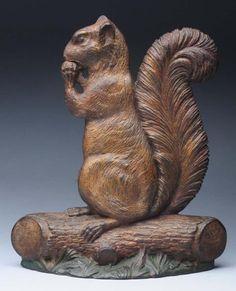 1000 images about antique cast iron doorstops on pinterest doorstop door stop and irons - Cast iron squirrel door stop ...