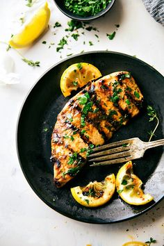 The absolute best chicken marinade recipe! This easy to whip together marinade will become a summer (and even a winter!) staple.