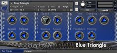 Blue Triangle KONTAKT Team AUDiOSTRiKE | 13 June 2014 | 93.6 MB Blue Triangle is a Spring percussion instrument. It is our very first self-built acoustic