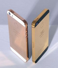 Gold Plated iPhone Case: Want to bling out your newly acquired iPhone 5? London-based Gold & Co. will soon be offering the iPhone 5 in 24 karat gold as well as rose gold. Pretty sweet right? They have yet to release pricing, but it safe to assume it wont come cheap.