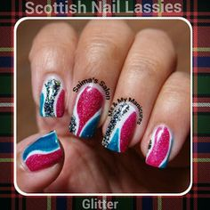 SUNDAY, 4 AUGUST 2013  My Manicure: Scottish Nail Lassies
