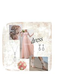 """""""Pearlin wedding"""" by emma-rose-tokach on Polyvore featuring Bling Jewelry and Tempaper"""
